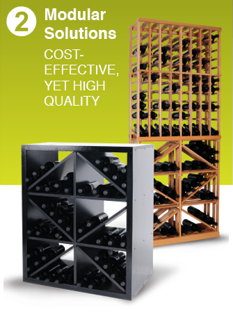 Modular Wine Racking Kits | Modular Wine Cellars & Storage