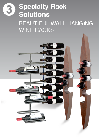 Wall Hanging & Mounted Wine Racks